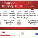 Christmas – New Year's Trading Hours
