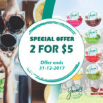 YUMI'S DIPS SPECIAL UNTIL END OF 2017
